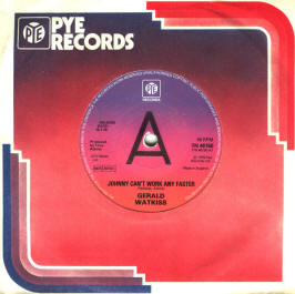 Gerald Watkiss - Johnny Can't Work Any Faster / E.S.P.
